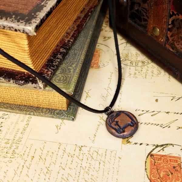 Zodiac and Horoscope Charm Necklace - Capricorn