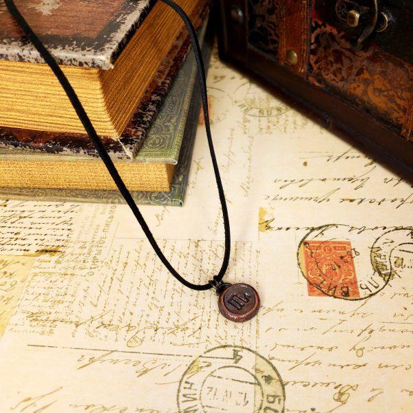 Zodiac and Horoscope Charm Necklace - Scorpio